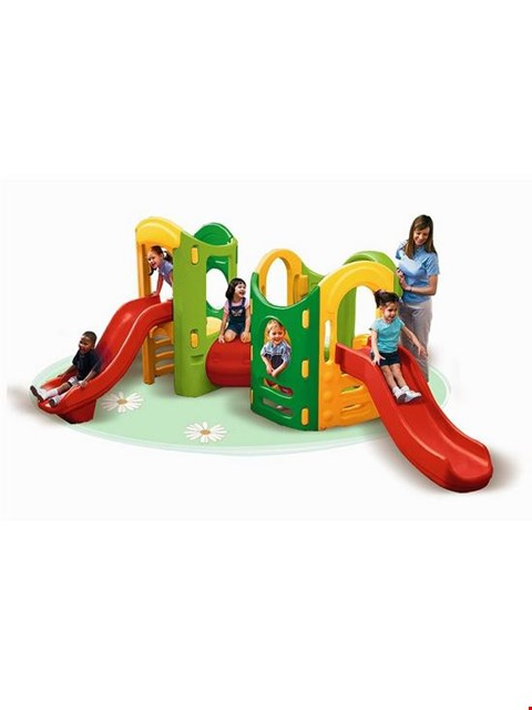 Lot 276 LITTLE TIKED 8 IN 1 PLAYGROUND RRP £749.99