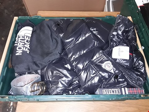 Lot 4727 LARGE CRATE OF ASSORTED DESIGNER CLOTHING ITEMS