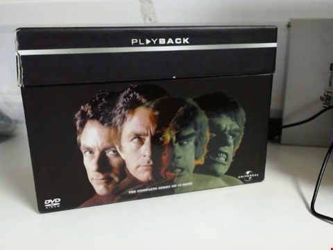 Lot 8165 THE INCREDIBLE HULK THE ULTIMATE COLLECTION COMPLETE SERIES 24 DISCS
