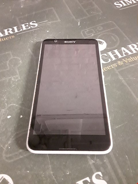Lot 4238 SONY XPERIA MOBILE PHONE- WHITE
