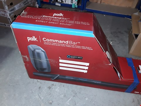 Lot 289 POLK COMMAND BAR HOME THEATRE SOUND BAR SYSTEM