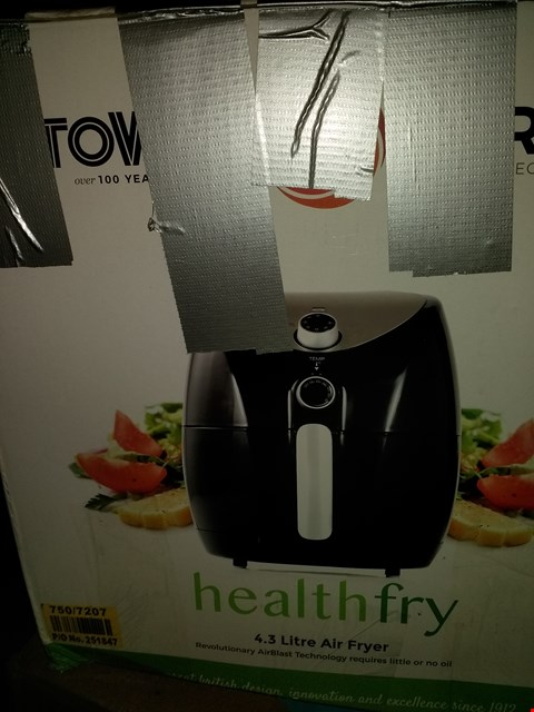 Lot 2025 TOWER HEALTH FRY 3.2L AIR FRYER