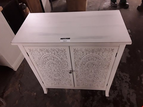 Lot 7030 DESIGNER WHITE 2-DOOR SIDEBOARD