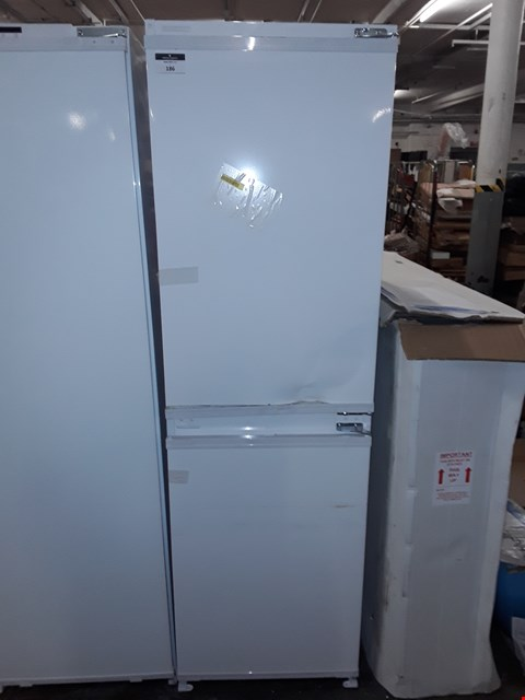 Lot 186 BEKO BUILT IN INTEGRATED FRIDGE FREEZER RRP £428