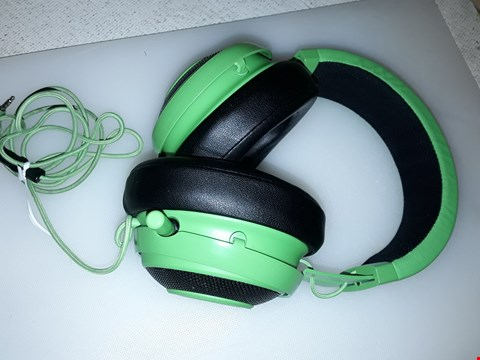 Lot 4079 RAZER GAMING HEADPHONES