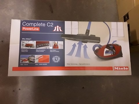 Lot 564 MIELE COMPACT C2 POWERLINE BAGGED VACUUM CLEANER - BLUE