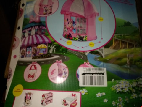 Lot 8422 DISNEY MINNIE MOUSE PLAY HOUSE RRP £31.99