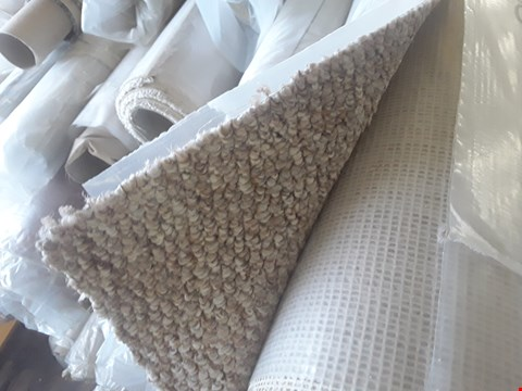 Lot 662 ROLL OF LIGHT BROWN CARPET APPROXIMATELY 4X1.6M