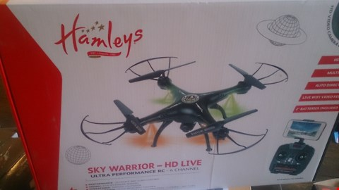 Lot 1047 HANLEYS SKY WARRIOR HD LIVE DRONE