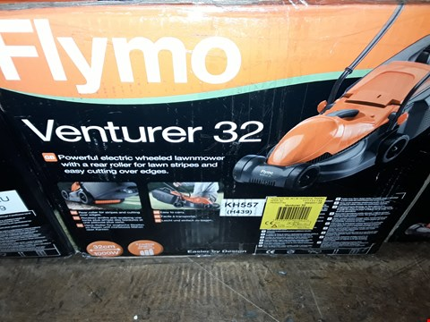 Lot 332 BOXED BRAND NEW FLYMO VENTURER 32 MOWER  RRP £95