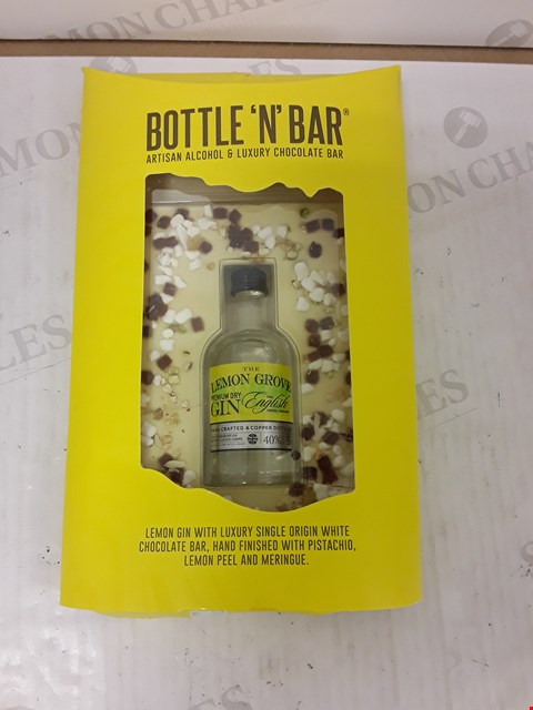 Lot 9033 BOTTLE N BAR WITH LEMON GIN RRP £14.99