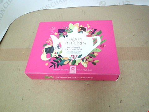 Lot 13417 ENGLISH TEA SHOP THE ULTIMATE TEA COLLECTION RRP £17.99