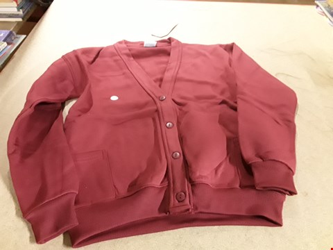 Lot 224 BOX OF APPROXIMATELY 50 GIRLS SCHOOL CARDIGANS VARIOUS SIZES