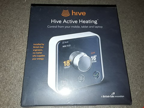 Lot 344 BOXED HIVE ACTIVE HEATING CONTROL FROM YOUR MOBILE, TABLET AND LAPTOP