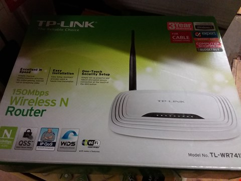 Lot 5188 TP-LINK WIRELESS N ROUTER