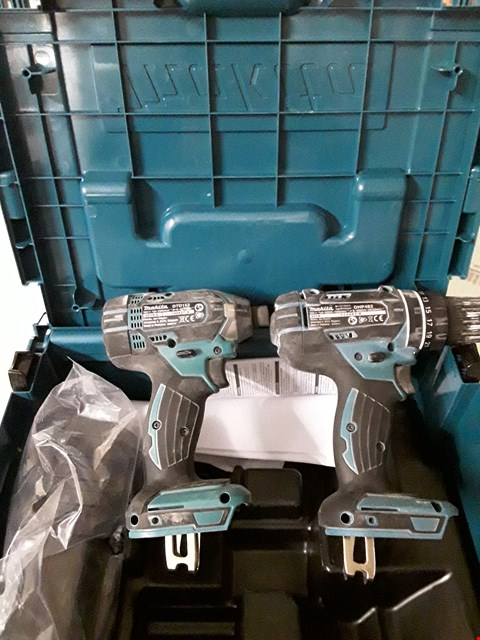 Lot 8480 MAKITA DLX2131JX1 DRILLS