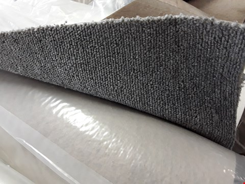 Lot 287 ROLL OF GREY CARPET 4M × SIZE UNSPECIFIED