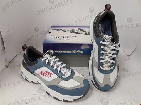 Lot 991 BOXED PAIR OF SKETCHERS D'LITES TRAINERS SIZE 6
