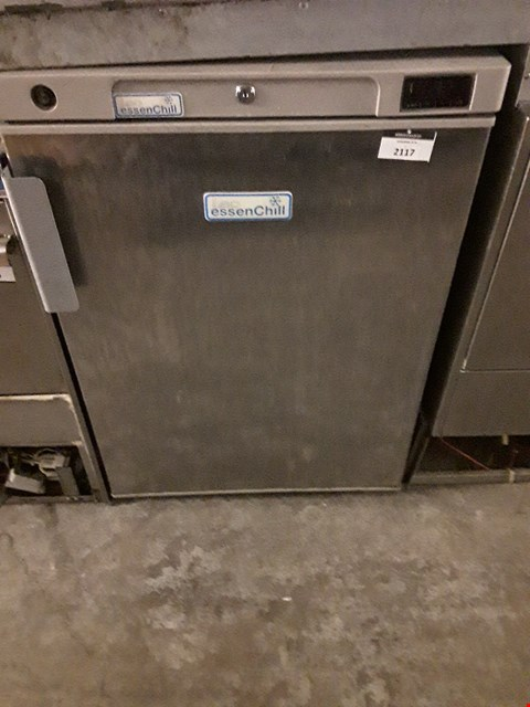 Lot 2117 LEC ESSENCHILL UNDERCOUNTER FREEZER