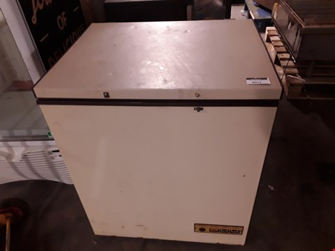 Lot 8012 SMALL CHEST FREEZER