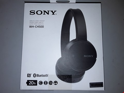 Lot 771 SONY WHCH500 WIRELESS HEADPHONES