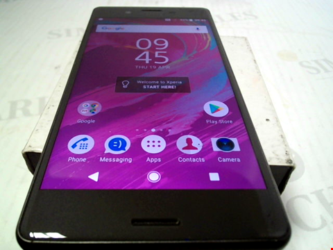 Lot 6078 SONY XPERIA X 32GB ANDROID SMARTPHONE