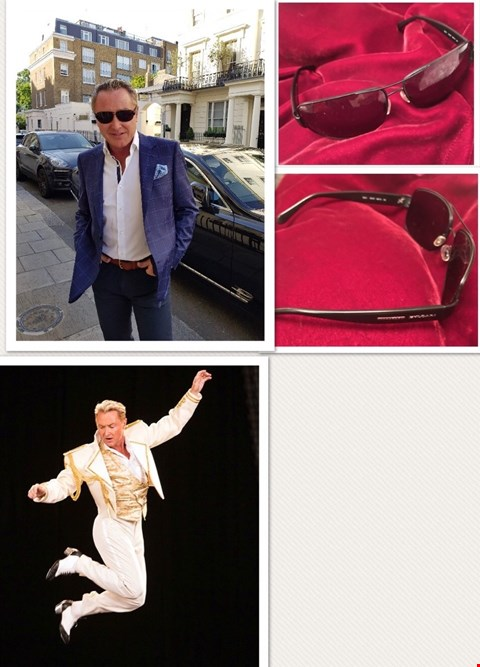 Lot 21 SHADES DONATED BY 'LORD OF THE DANCE' MICHAEL FLATLEY