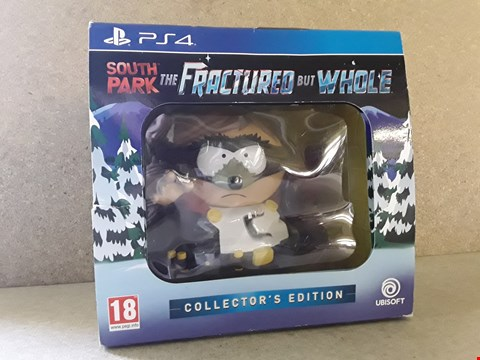 Lot 693 BOXED PRE-OWNED SOUTH PARK THE FRACTURED BUT WHOLE COLLECTORS EDITION FOR PS4
