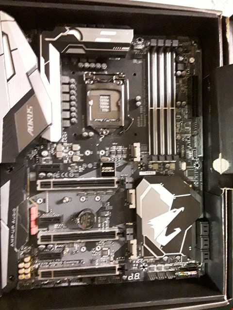 Lot 350 GIGABYTE Z370 AOURUS GAMING 7 MOTHERBOARD