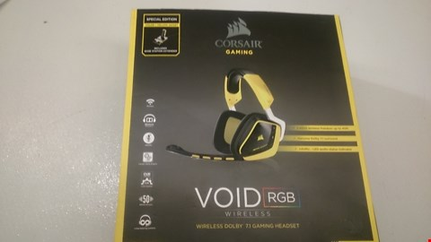 Lot 19 BOXED CORSAIR VOID RGB WIRELESS HEADSET