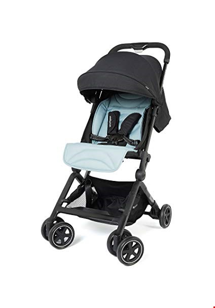 Lot 2959 BRAND NEW MOTHERCARE RIDE STROLLER BLACK RRP £120.00