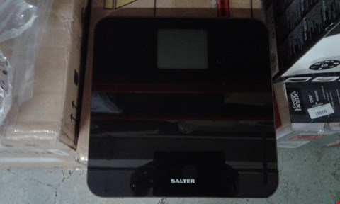 Lot 10589 SALTER MAX BLACK ELECTRONIC SCALEB RRP £32.00