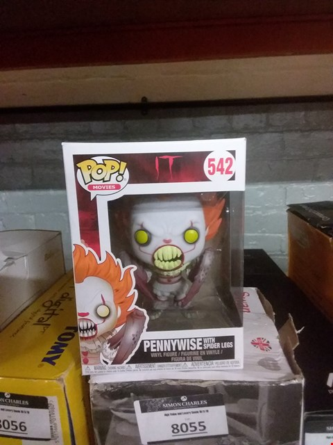 Lot 6095 POP MOVIES 524 PENNYWISE WITH SPIDER LEGS