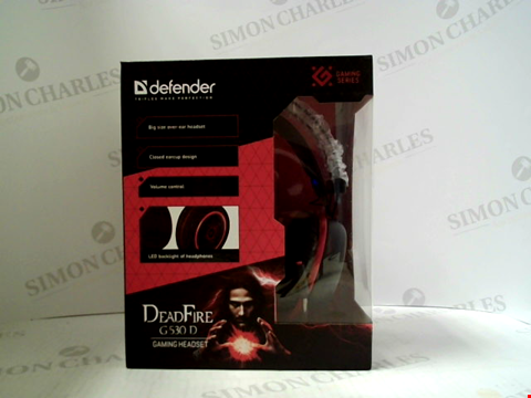 Lot 396 BRAND NEW DEFENDER DEADFIRE G530 D GAING HEADSET