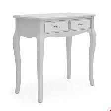 Lot 3034 BOXED DESIGNER PALAIS DRESSES TABLE IN GREY