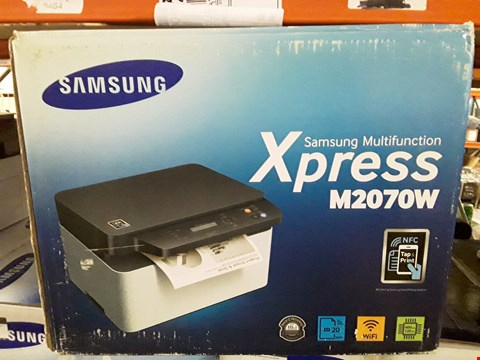 Lot 9419 BOXED SAMSUNG XPRESS M2070W WIRELESS PRINTER