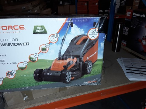 Lot 381 YARDFORCE CORDLESS LAWNMOWER