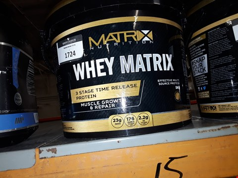 Lot 1724 MATRIX NUTRITION WHEY MATRIX 3 STAGE TIME RELEASE PROTEIN MUSCLE GROWTH AND REPAIR 5KG