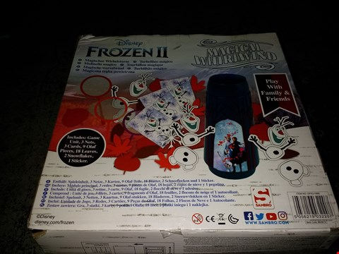 Lot 2394 FROZEN 2 MAGICAL WHIRLWIND GAME  RRP £24.99