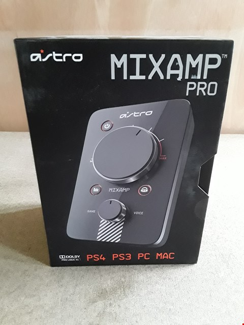 Lot 3 BRAND NEW BOXED ASTRO MIXAMP PRO DOLBY 7.1 HEADPHONE AMPLIFIER FOR PS4 PS3 PC MAC