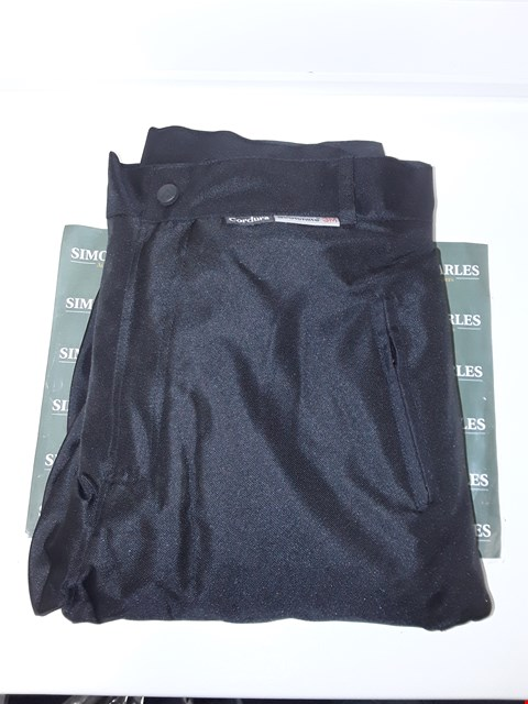 Lot 4070 SIKMA SPORTS CORDURA MOTORCYCLE TROUSERS - SIZE 42