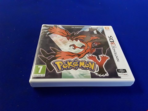 Lot 7611 POKEMON Y NINTENDO 3DS GAME