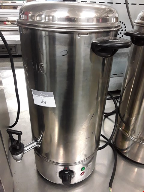 Lot 49 BUFFALO 10L ELECTRIC WATER BOILER