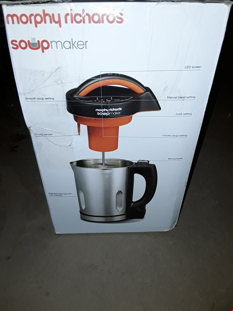 Lot 373 MORPHY RICHARDS 1.6L SOUP MAKER
