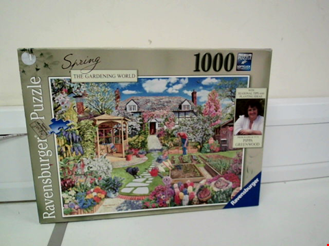 Lot 8063 RAVENSBURGER SPRING THE GARDENING WORLD 1000 PIECE JIGSAW PUZZLE