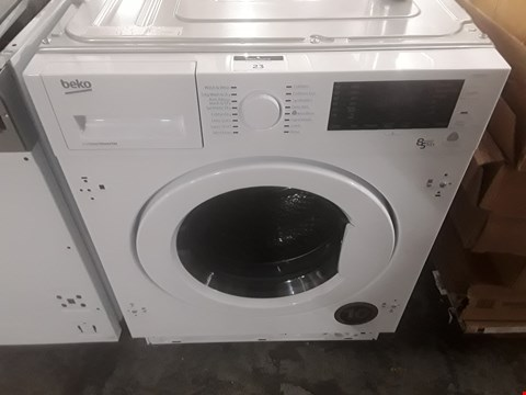 Lot 23 BEKO INTEGRATED WASHER/DRYER  RRP £425
