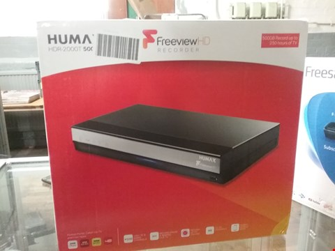 Lot 9158 HUMAX HDR -2000T SMART FREEVIEW HD TV RECORDER RRP £170