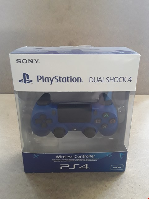 Lot 697 BRAND NEW BOXED PS4 DUALSHOCK 4 BLUE WIRELESS CONTROLLER