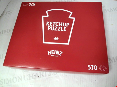 Lot 3117 HEINZ KETCHUP 570-PIECE JIGSAW PUZZLE