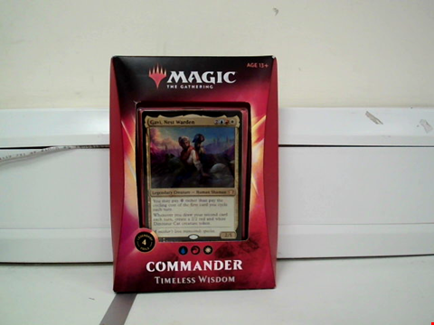 Lot 8092 MAGIC THE GATHERING COMMANDER TIMELESS WISDOM